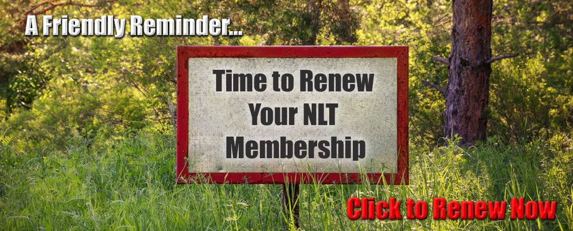 Time to Renew Your NLT Membership